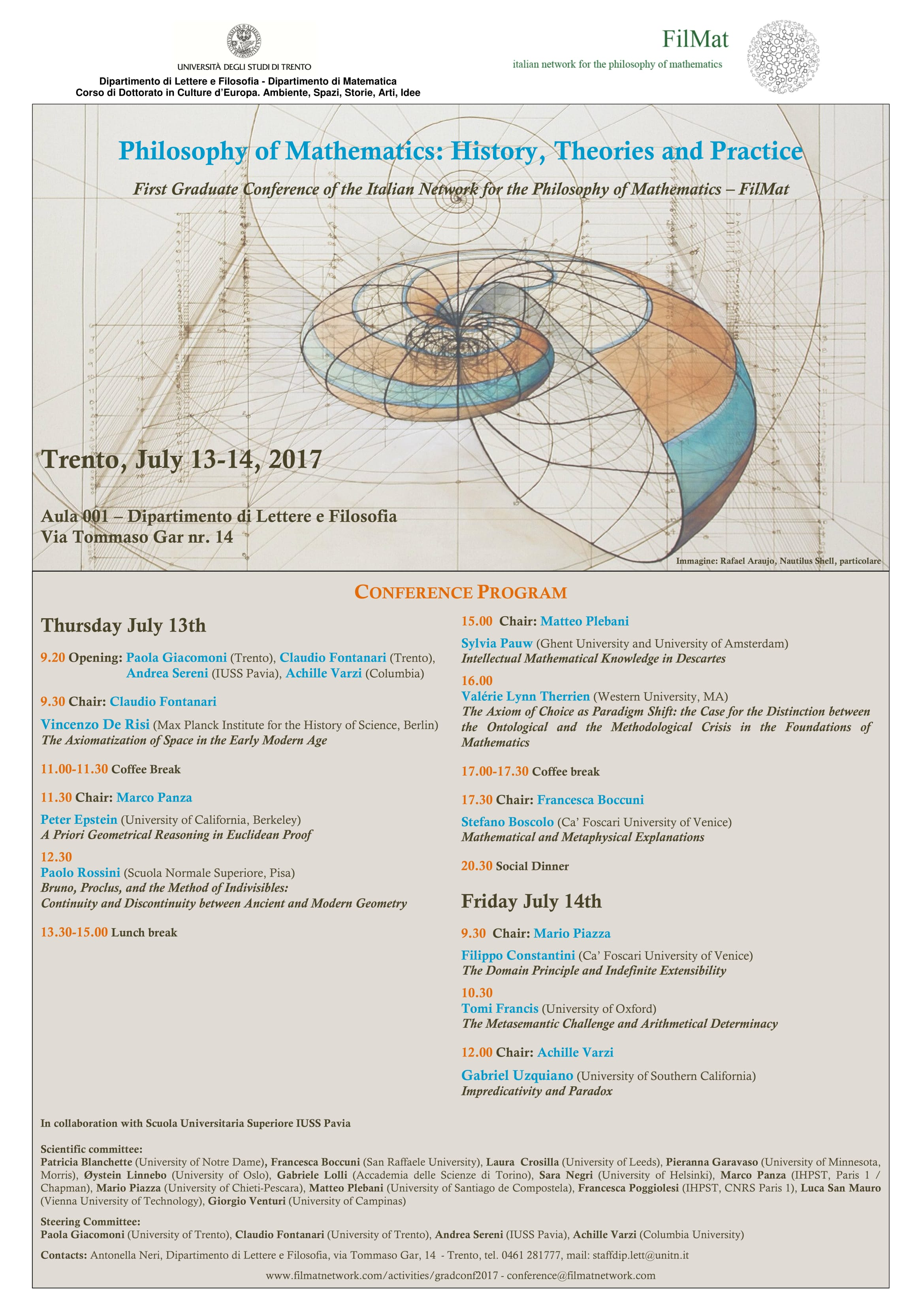 Filmat Italian Network For Philosophy Of Mathematics